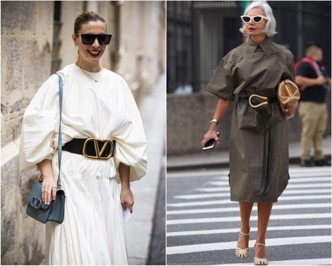 Широкие и роскошные: самые модные расклешенные платья 2021-2022 года 20
