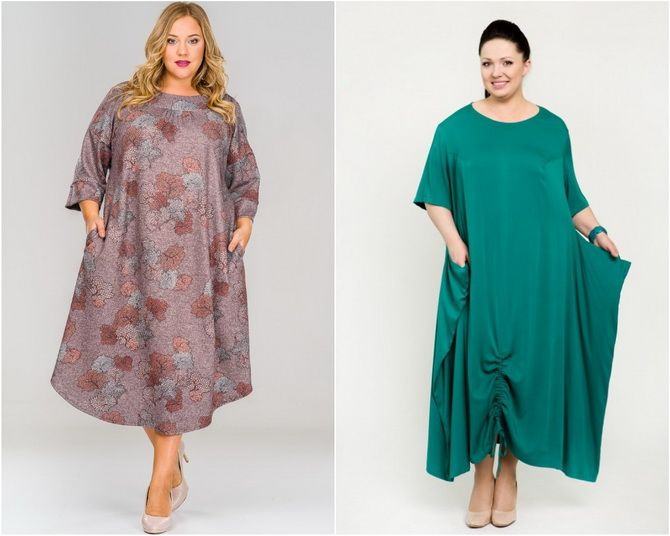 Широкие и роскошные: самые модные расклешенные платья 2021-2022 года 33