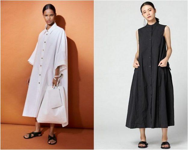 Широкие и роскошные: самые модные расклешенные платья 2021-2022 года 3