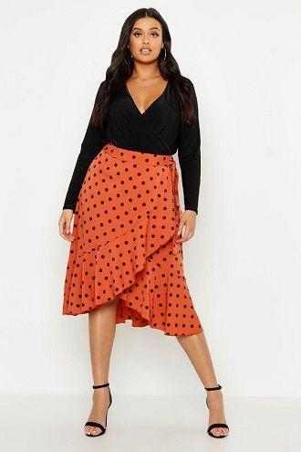 Без ограничений: модные летние юбки для полных женщин 2020 20