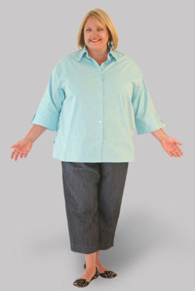 Летние брюки для полных: актуальные тренды 2020-2021 года 29