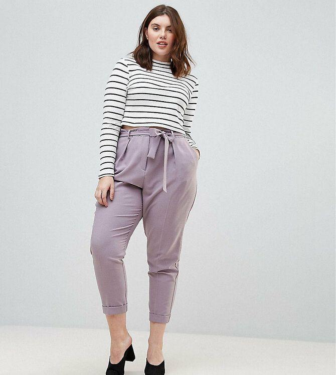 Летние брюки для полных: актуальные тренды 2020-2021 года 5
