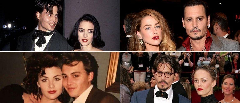 7 жінок, які залишили слід у житті Джонні Деппа