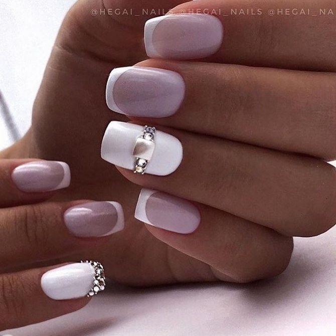 Весільний манікюр 2020: нігтики на вищому рівні 36