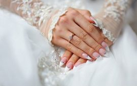Wedding manicure 2020: top-level nails
