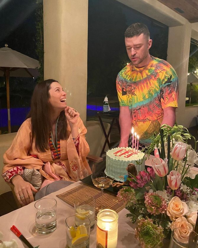 Джастин Тимберлейк и Джессика Бил стали родителями во второй раз! 2