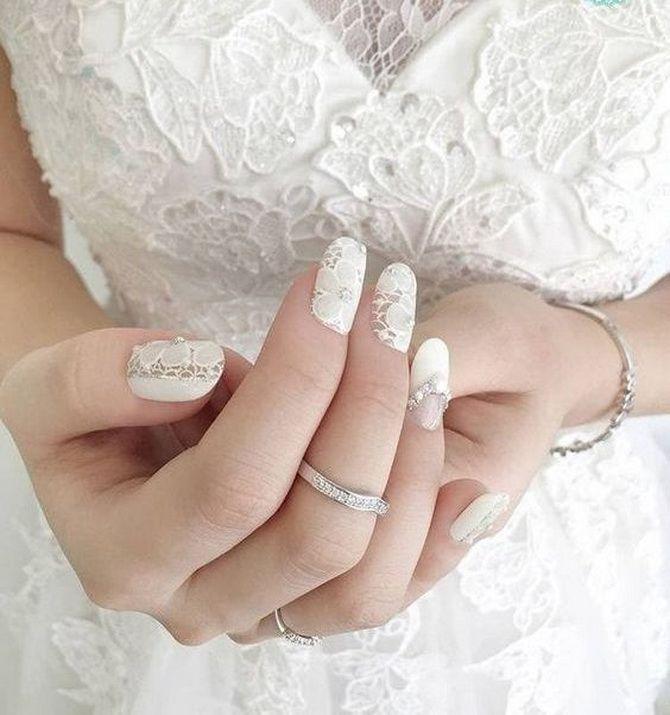 Весільний манікюр 2020: нігтики на вищому рівні 13