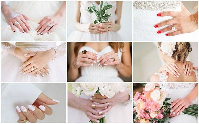 Весільний манікюр 2020: нігтики на вищому рівні 10