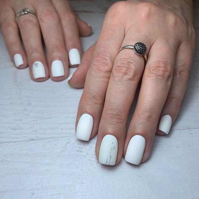 Весільний манікюр 2020: нігтики на вищому рівні 46