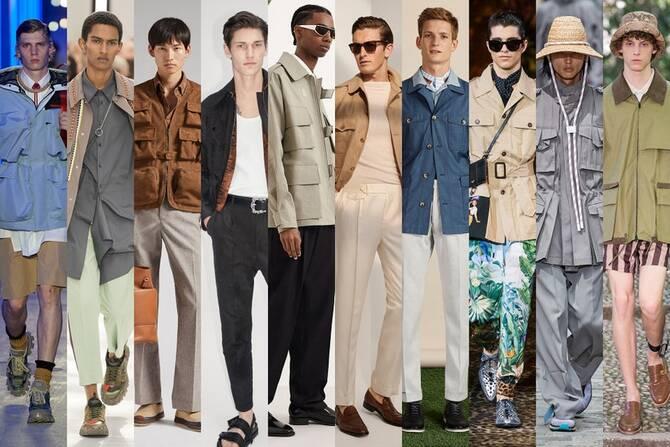 Модні літні чоловічі сорочки 2021-2022 9