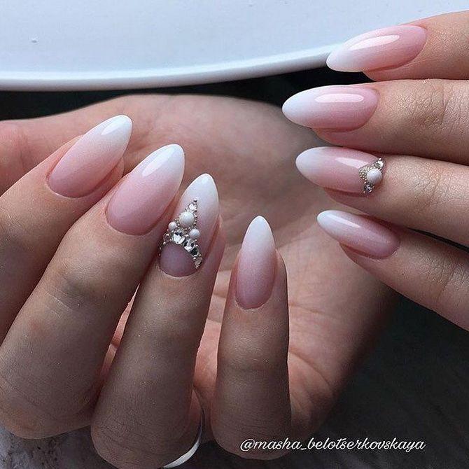 Весільний манікюр 2020: нігтики на вищому рівні 51