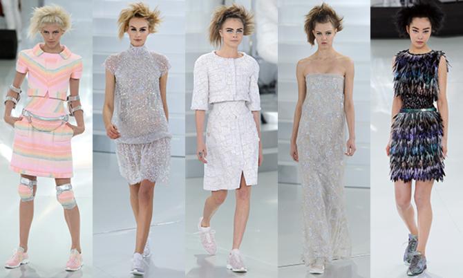 Платье с кроссовками: модные луки 2021-2022 3