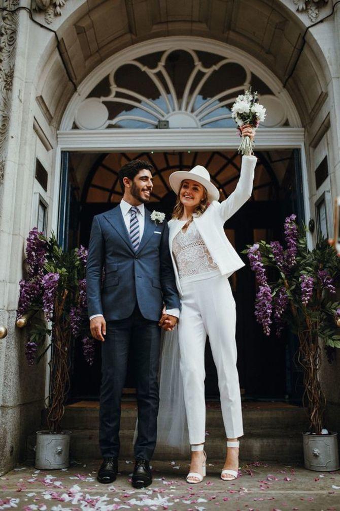 Свадебные костюмы для невест: стильные идеи для особенного дня 1