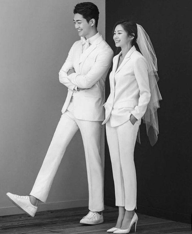 Свадебные костюмы для невест: стильные идеи для особенного дня 12