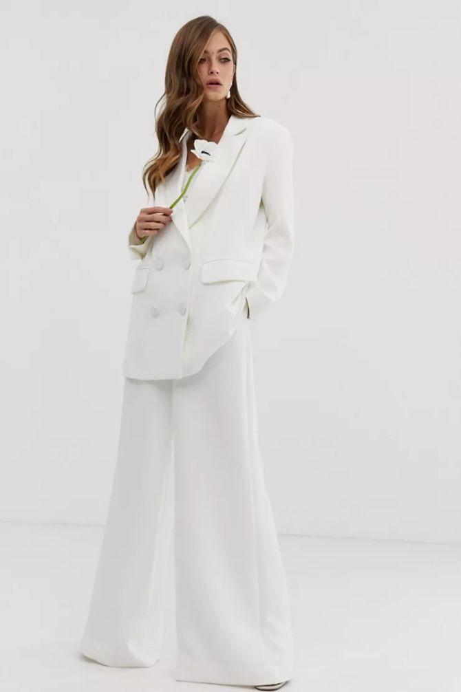 Свадебные костюмы для невест: стильные идеи для особенного дня 20