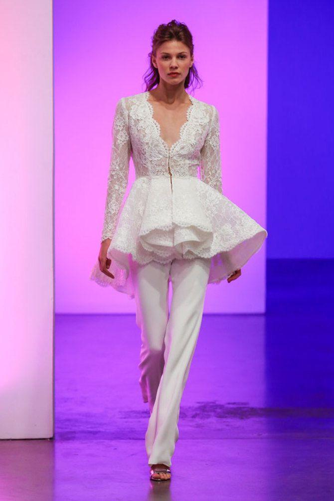 Свадебные костюмы для невест: стильные идеи для особенного дня 23