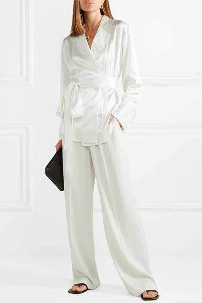 Свадебные костюмы для невест: стильные идеи для особенного дня 21