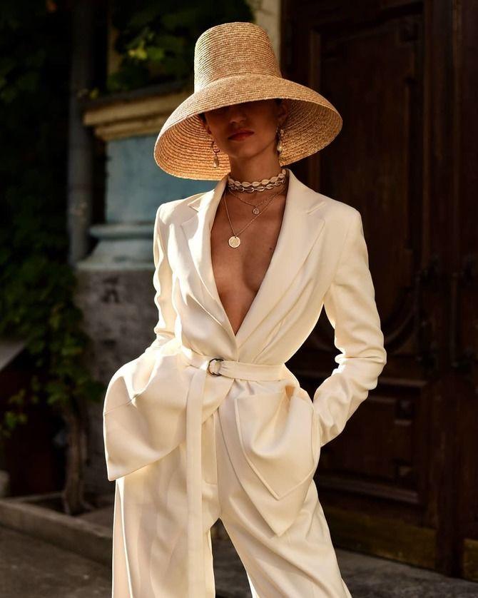 Свадебные костюмы для невест: стильные идеи для особенного дня 29