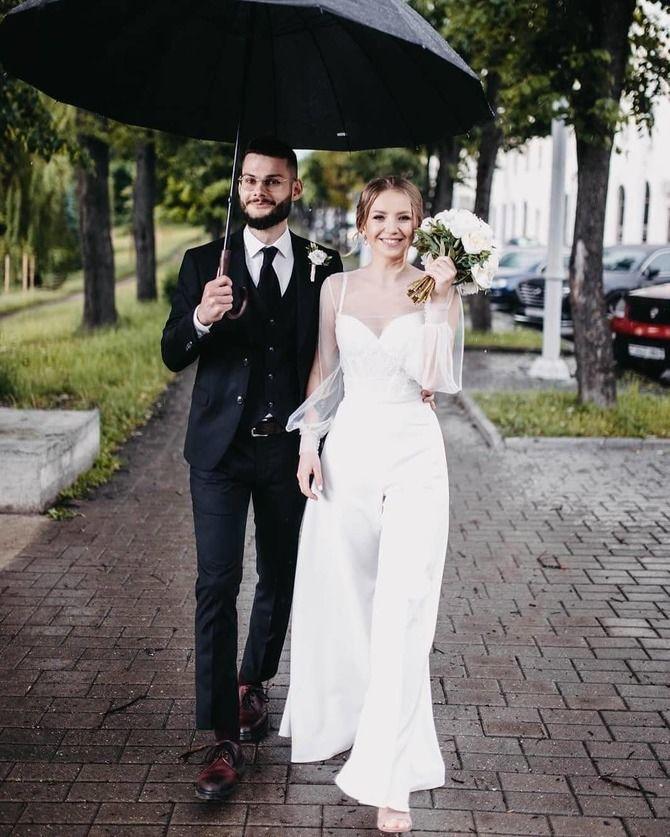 Свадебные костюмы для невест: стильные идеи для особенного дня 4