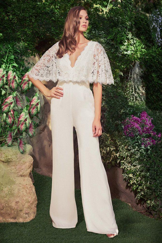 Свадебные костюмы для невест: стильные идеи для особенного дня 46
