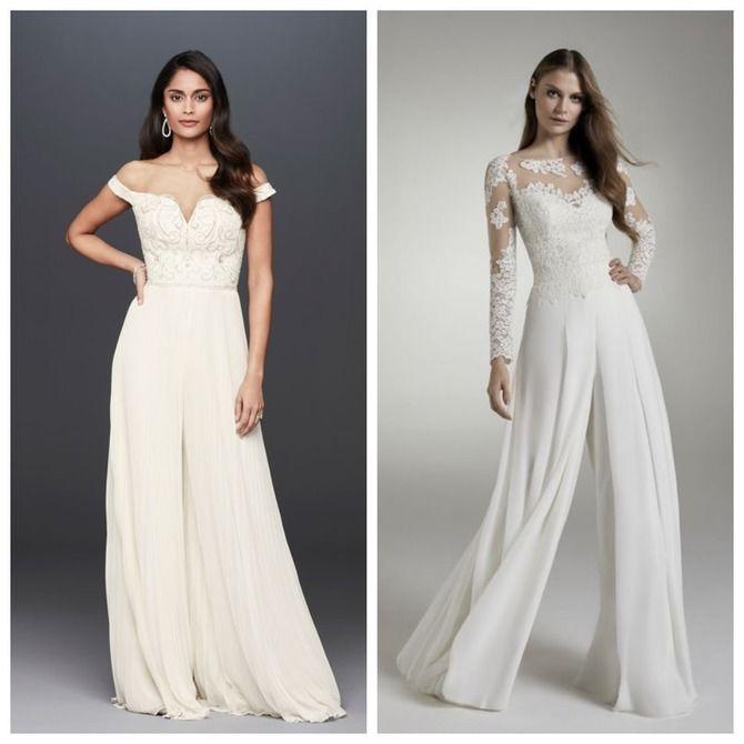Свадебные костюмы для невест: стильные идеи для особенного дня 51