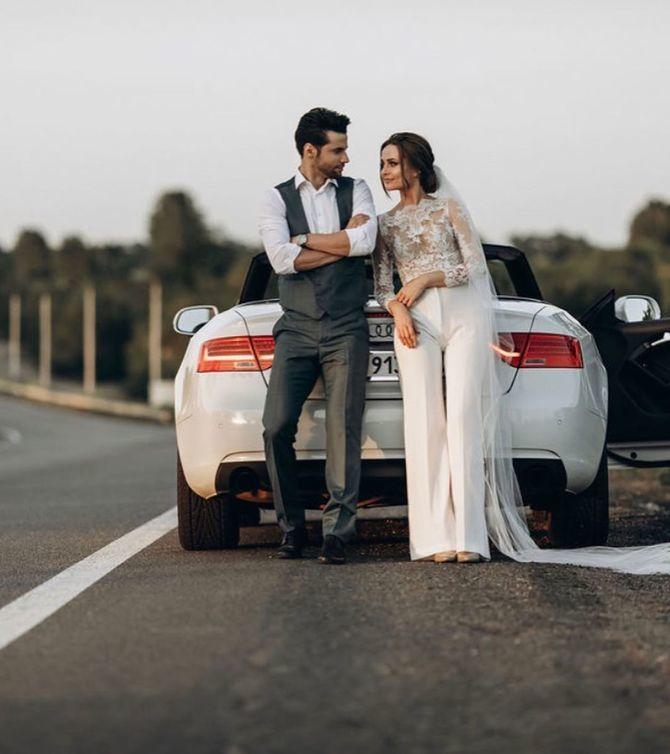 Свадебные костюмы для невест: стильные идеи для особенного дня 5