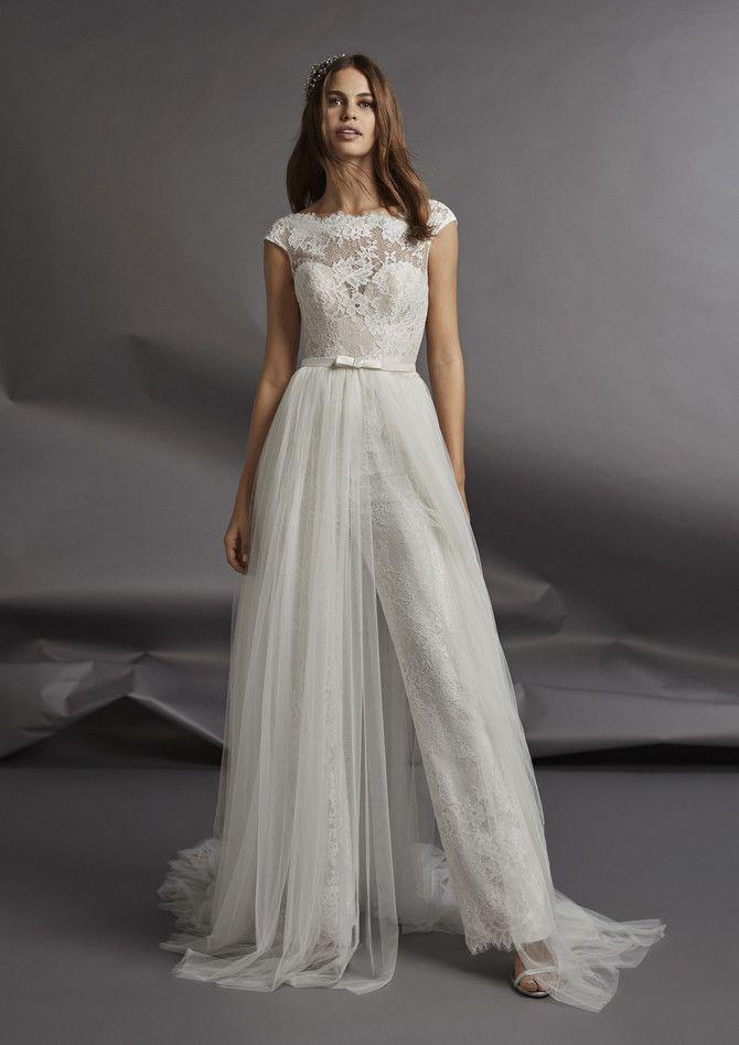 Свадебные костюмы для невест: стильные идеи для особенного дня 56