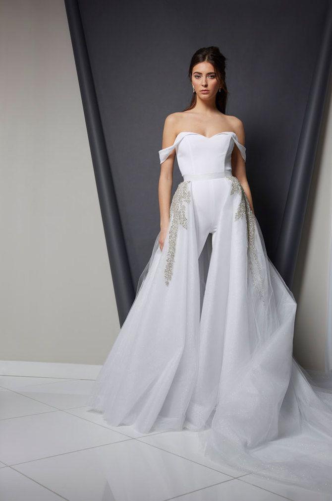 Свадебные костюмы для невест: стильные идеи для особенного дня 57