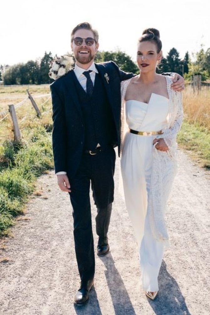 Свадебные костюмы для невест: стильные идеи для особенного дня 6