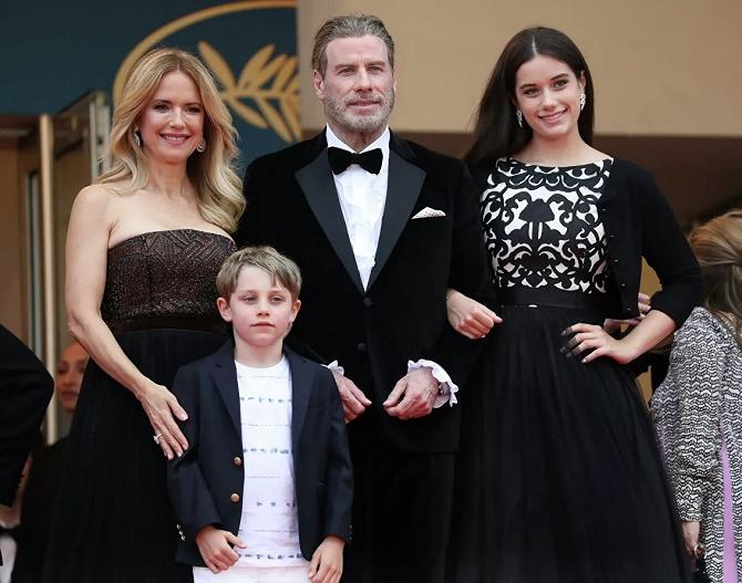 Келли Престон и семья