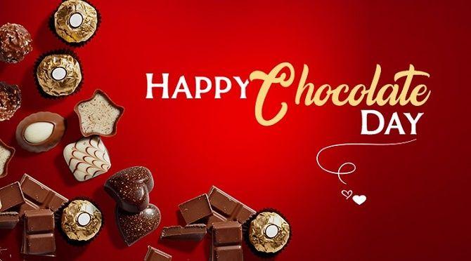 привітання з днем шоколаду 2020