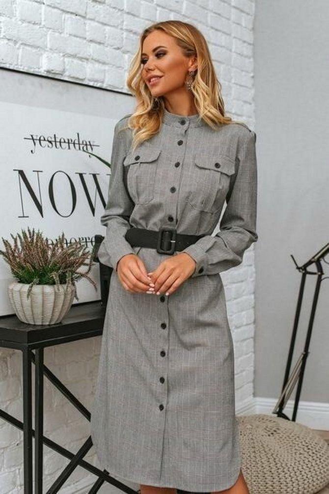 Офісні сукні 2020-2021: ділова елегантність 5