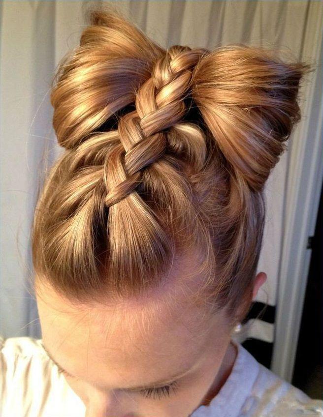 Зачіска з 1 бантом для дівчинки: стильні ідеї на 1 вересня 36