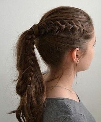 Прості і красиві зачіски в школу за 5 хвилин 4