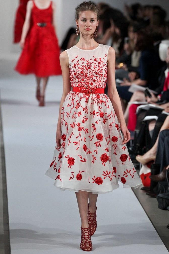 Платья с вышивкой — лучшие модели сезона 2021-2022 1