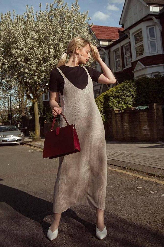 Трикотажные платья 2021-2022: удобство на любой сезон 9