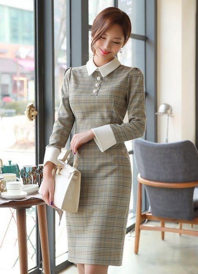 Офісні сукні 2020-2021: ділова елегантність 4