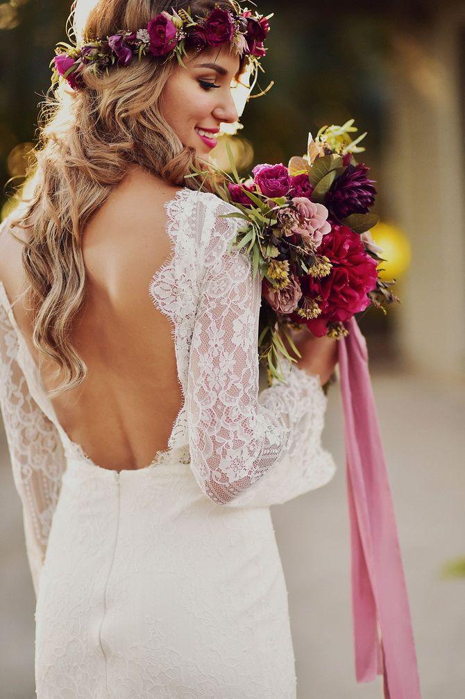 Свадебные прически 2021: шикарные идеи для торжества 1