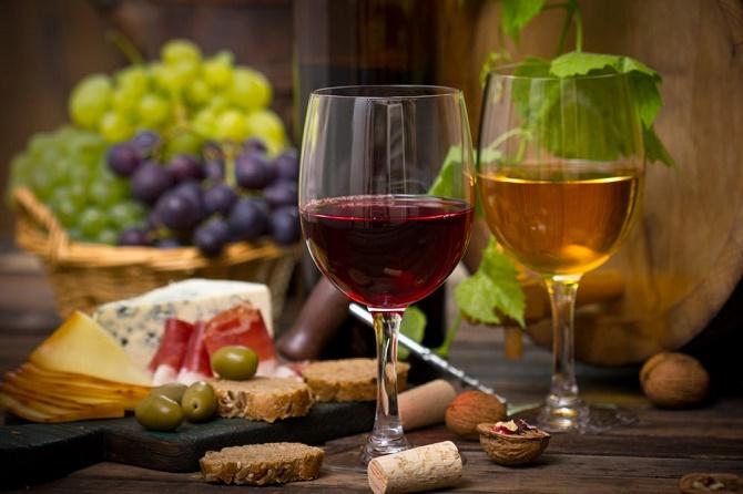 розовое вино к блюдам
