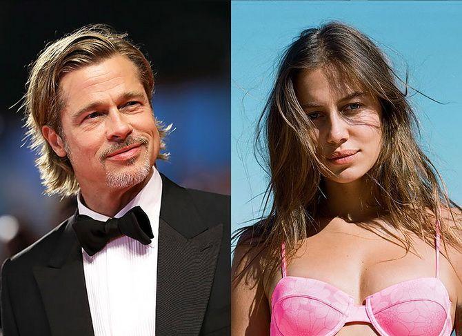 Новая девушка Брэда Питта: действительно ли она похожа на Анджелину Джоли? 1