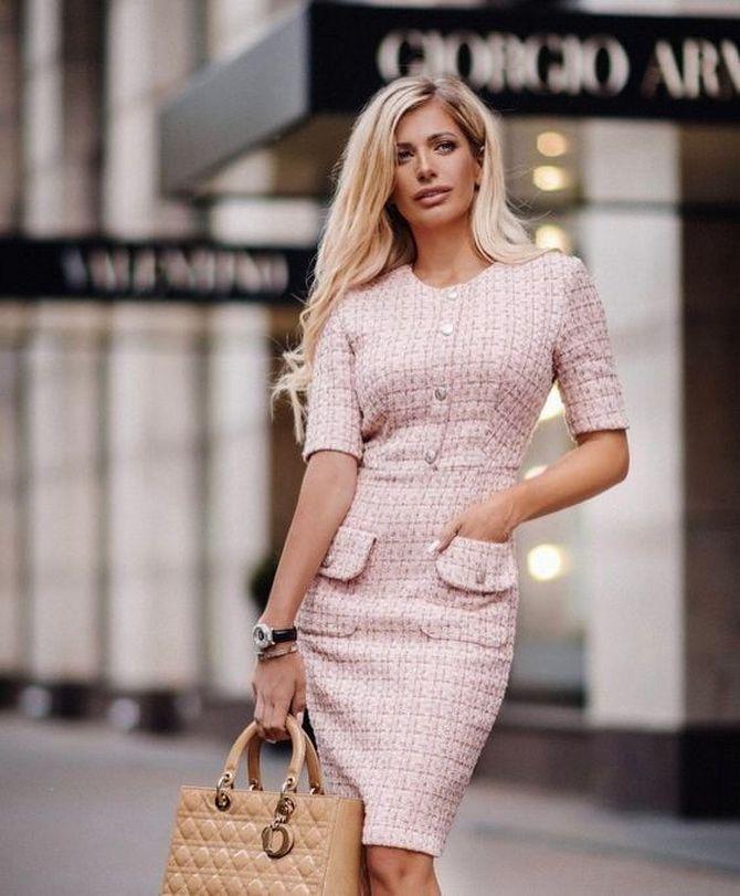 Офісні сукні 2020-2021: ділова елегантність 8