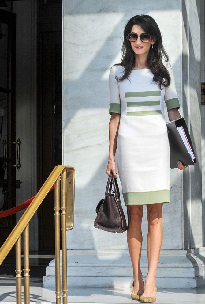 Офісні сукні 2020-2021: ділова елегантність 25
