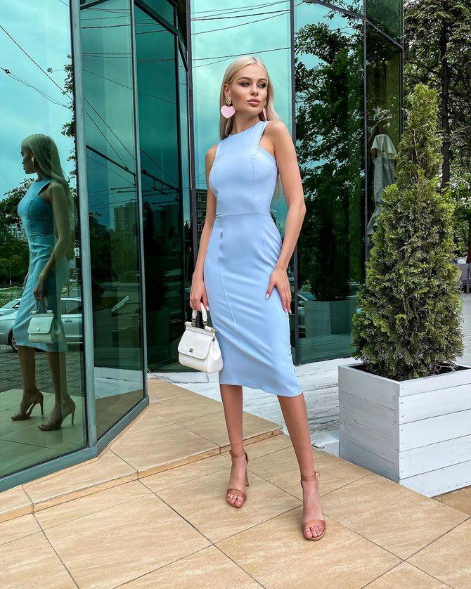 Офісні сукні 2020-2021: ділова елегантність 17