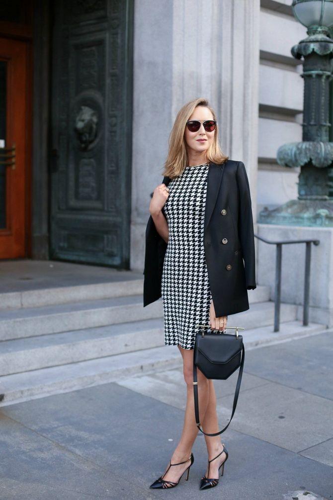 Офісні сукні 2020-2021: ділова елегантність 22