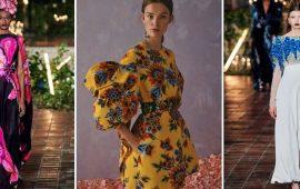 Платье с цветами: подборка лучших флористических принтов 2021-2022 года