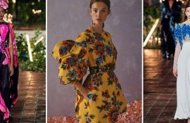 Dresses with flower patterns: a selection of the best floral prints 2020-2021
