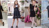 Школьные платья для девочек: самые модные тенденции 2021-2022 года