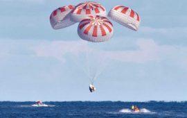 Місія виконана: астронавти з екіпажу SpaceX повернулися на Землю
