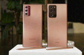 Смартфоны Galaxy Note20 и Galaxy Note20 Ultra от Samsung уже в продаже (и еще кое-что интересное)
