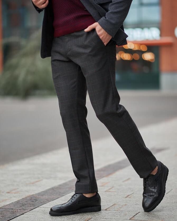 Правила сочетания брюк и обуви для мужчин